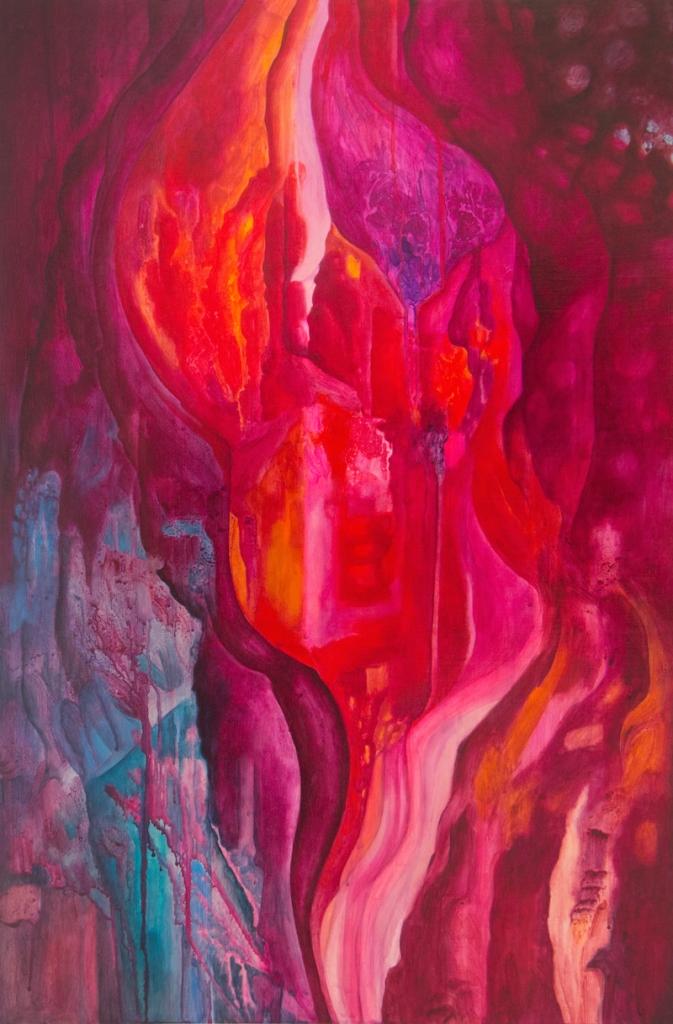 peinture art visuel contemporain abstrait Abitibi-Témiscamingue