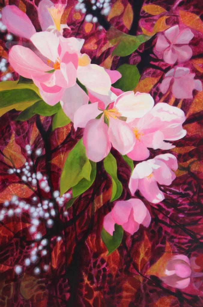 peinture art visuel contemporain galerie Abitibi-Témiscamingue