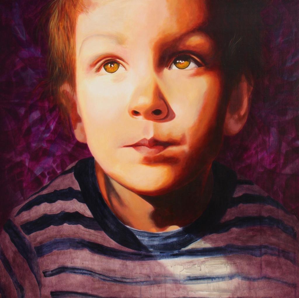peinture art visuel galerie contemporain
