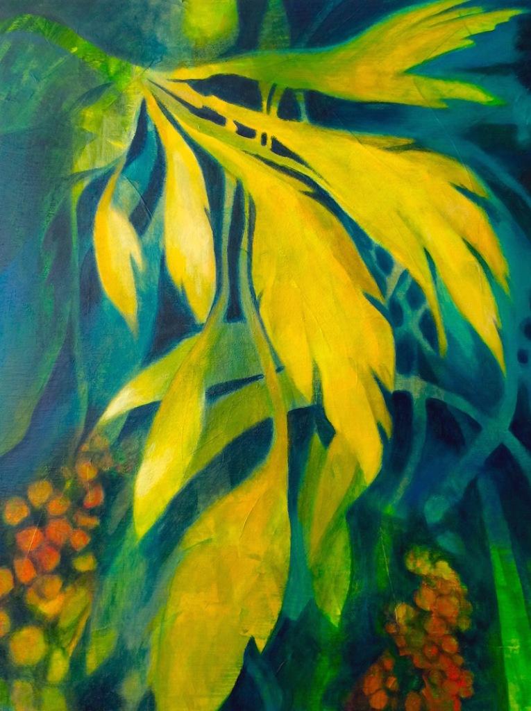 peinture galerie art visuel contemporain Abitibi-Témiscamingue