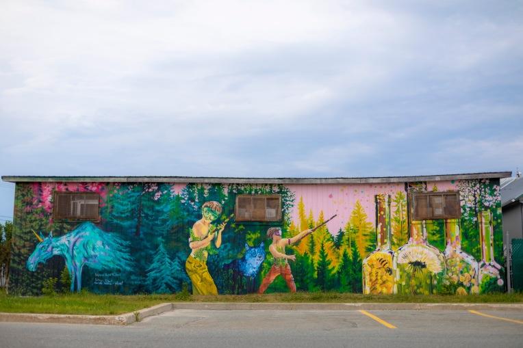 murale art public Abitibi-Témiscamingue
