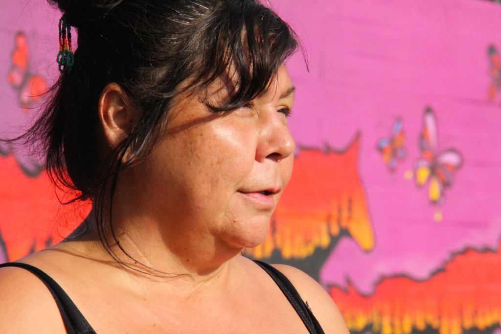 artiste Crie Abitibi-Témiscamingue murale