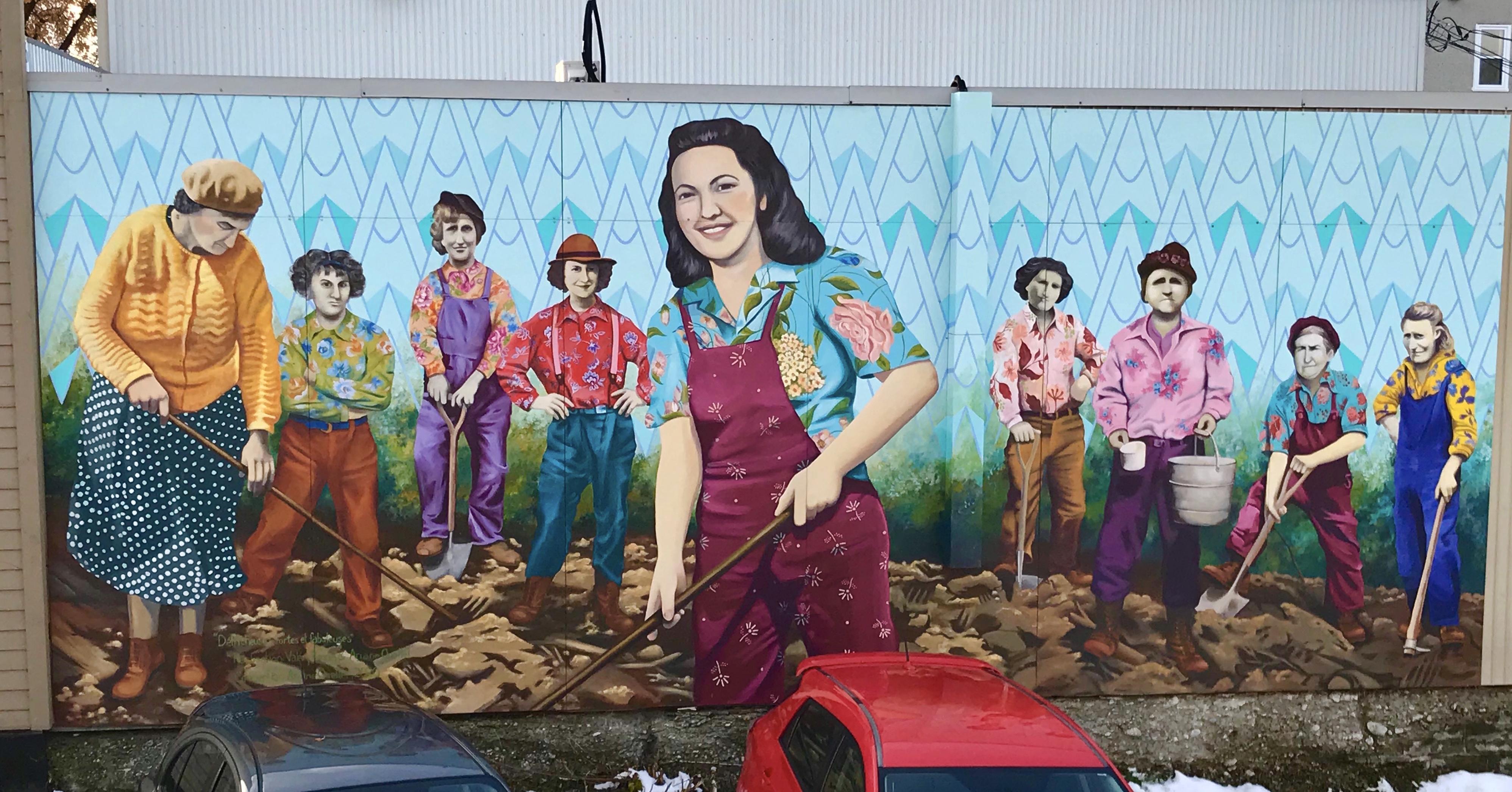 art public murale Abitibi-Témiscamingue
