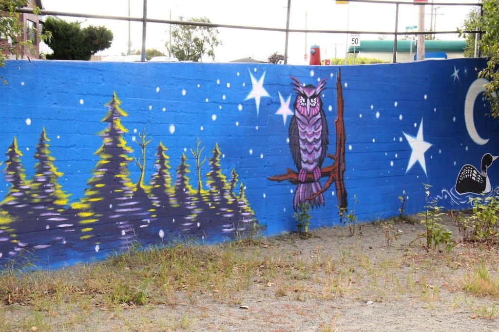 art public murale Premières Nations Abitibi-Témiscamingue